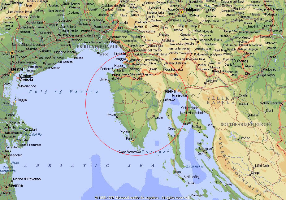 location Istria